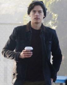 Cole Sprouse Riverdale Black Jacket