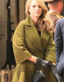 Drama The Age Adaline Blake Lively Green Coat