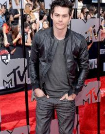 Dylan OBrien Black Jacket