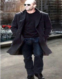 Fast and Furious 7 Jason Statham Black Coat