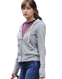 Fifty Shades Freed Dakota Johnson Hoodie Jacket