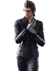 Final Fantasy Ignis Scientia Cosplay Leather Jacket