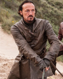 Game of Thrones Jerome Flynn Leather Jacket