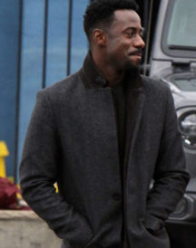 Gary Carr Gray Wool Coat in Modern Love