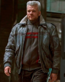 Ghost in the Shell Batou Leather Jacket