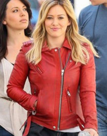 Hilary Duff Younger Series Leather Jacket