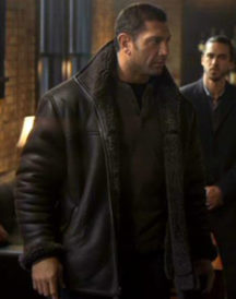 House of the Rising Sun Dave Bautista Fur Jacket