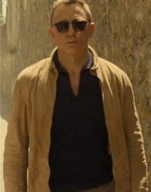 James Bond Spectre Brown Suede Leather Jacket