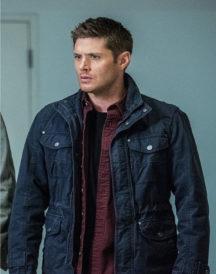 Jensen Ackles Supernatural Blue Jacket