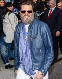 Jim Carrey NYC Leather Jacket