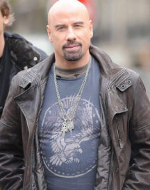 John Travolta Leather Jacket