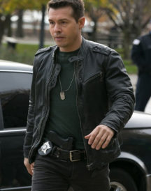 Jon Seda Chicago PD Black Jacket