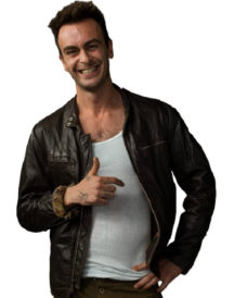 Joseph Gilgun Preacher Leather Jacket