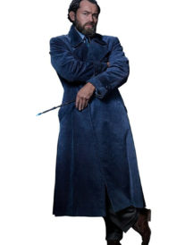Jude Law Fantastic Beasts 2 Trench Coat