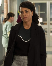 Justin Chambers Kelly McCreary Long Jacket