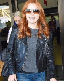 Stylish Amy Adams Biker Jacket