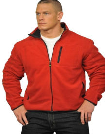 WWE John Cena Red Fleece Jacket