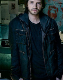12 Monkeys TV Series James Cole Leather Jacket
