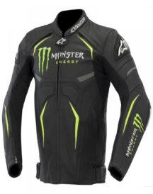 Alpinestars Hellhound Monster Energy Perforated Biker Jacket