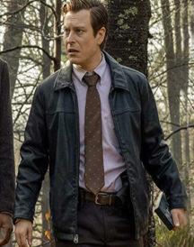 Knives Out Noah Segan Leather Jacket