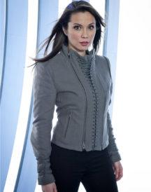 Lexa Doig Continuum Series Grey Jacket