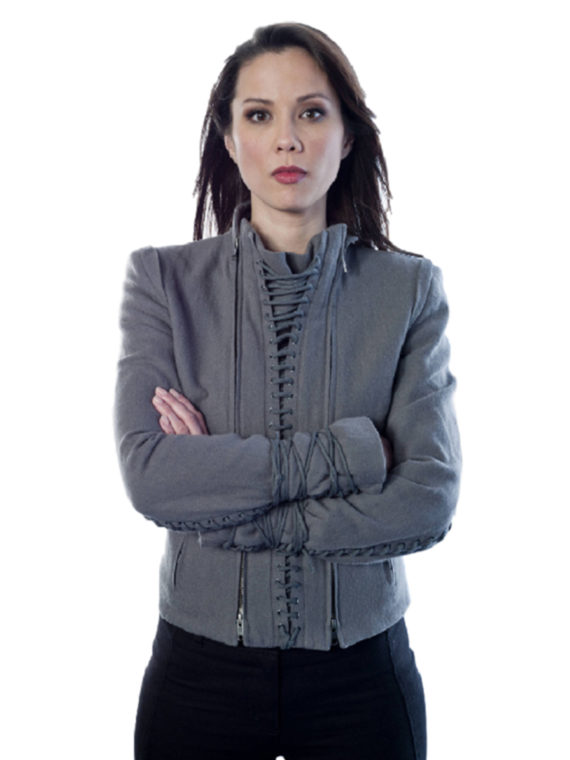 Lexa Doig Continuum Series Stylish Jacket