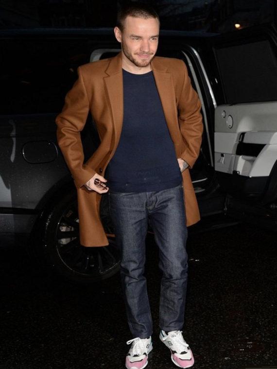 Liam Payne Street Coat