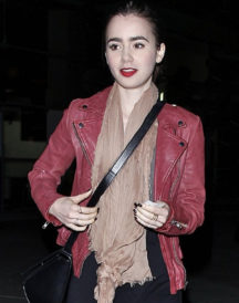 Lily Collins 2 Jacket