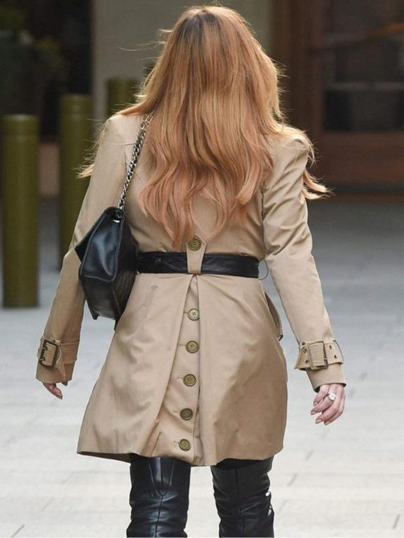Lindsay Lohan Coat