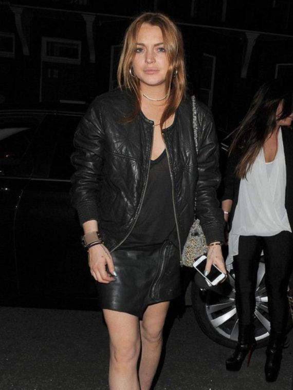 Lindsay Lohan Jacket