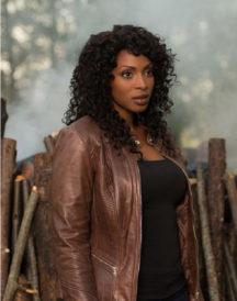 Lisa Berry Supernatural Brown Leather Jacket