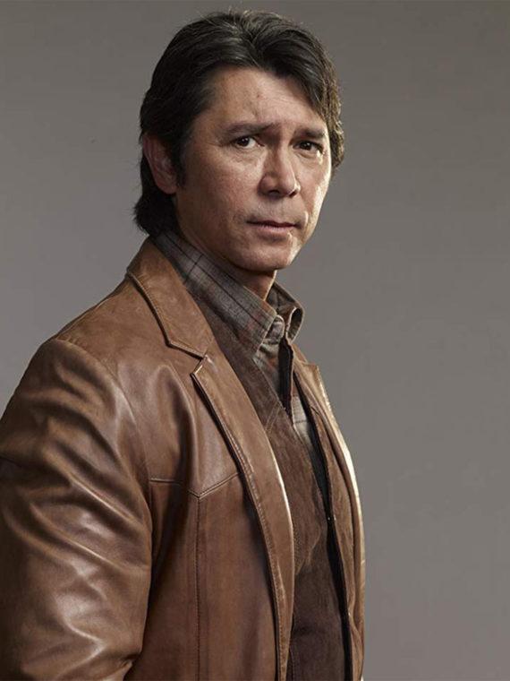 Longmire Henry Standing Bear Leather Blazer