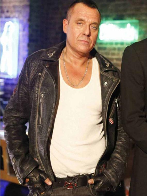 Lucifer Hank Cutter Tom Sizemore Jacket