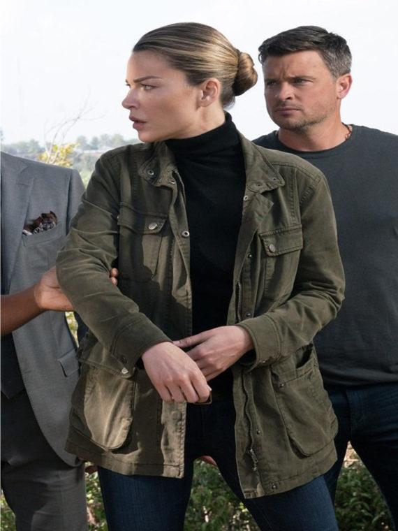 Lucifer Series Chloe Decker Army Jacket