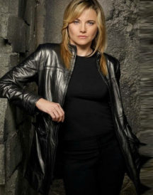 Lucy Lawless Battlestar D'Anna Biers Coat