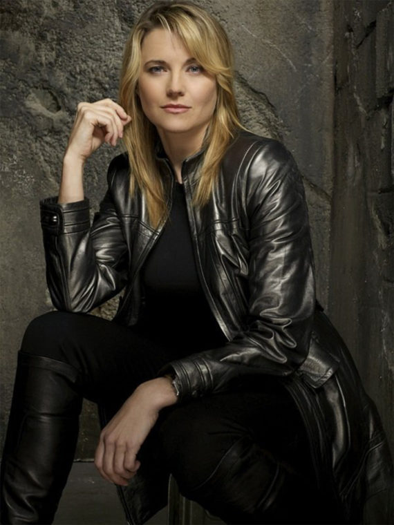 Lucy Lawless Battlestar Galactica D'Anna Coat