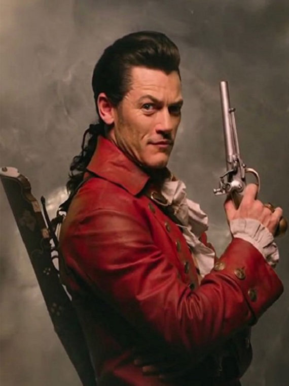 Luke Evans Beauty and the Beast Leather Coat