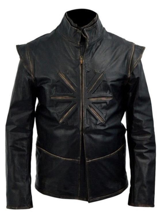 Luke Evans Dracula Leather Jacket