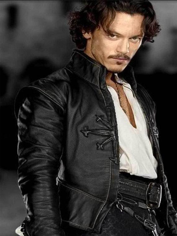 Luke Evans Dracula Untold Leather Jacket