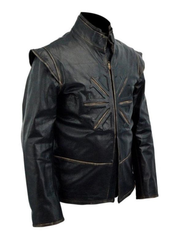 Luke Evans Untold Leather Jacket