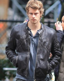 Luke Mitchell The Tomorrow People Leather Jacket