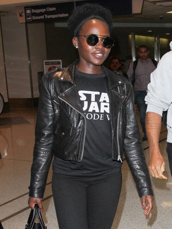 Lupita Nyong'o Star Wars Jacket