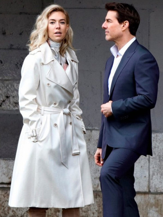 MI6 Fallout Vanessa Kirby Breasted Coat