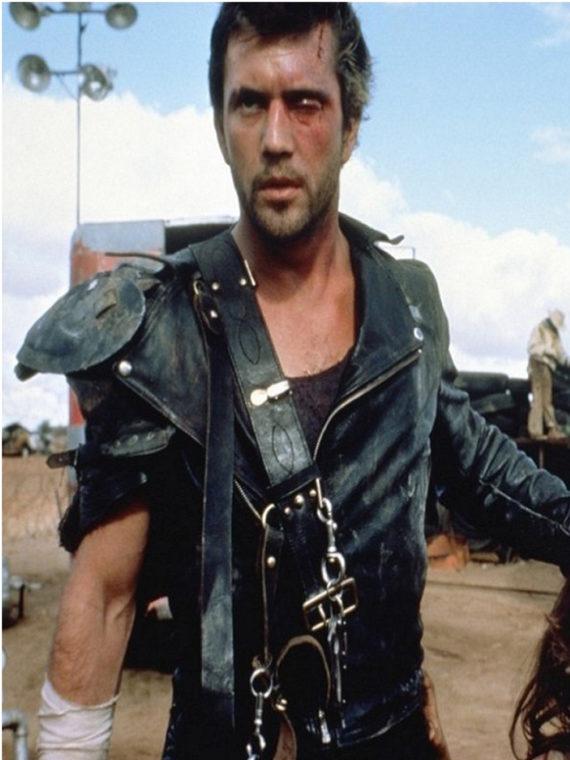 Mad Max Mel Gibson Road Warrior Black Jacket
