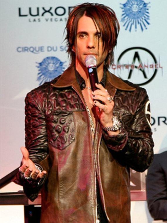 Magician Criss Angel Jacket