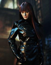 Malin Akerman Watchmen TV Series Trench Coat