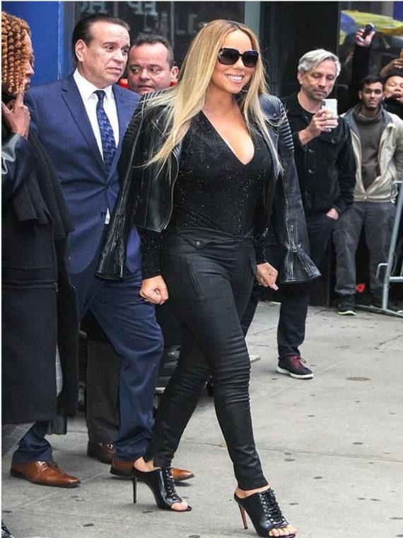 Mariah Carey Design Leather Jacket