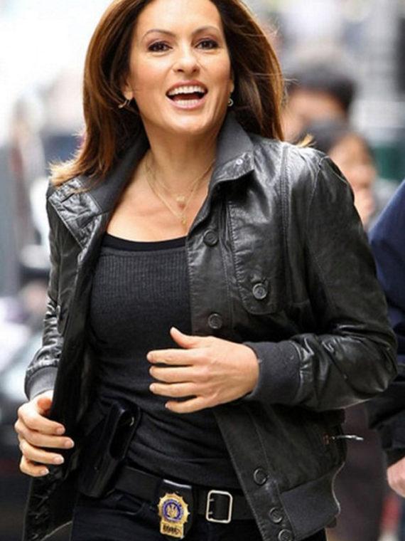 Mariska Hargitay Law & Order Jacket