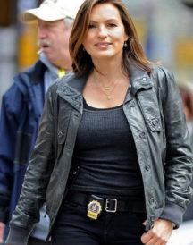 Mariska Hargitay Law & Order Leather Jacket