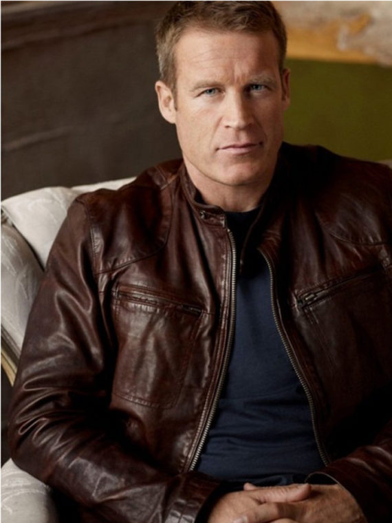 Mark Valley Human Target Brown Leather Jacket